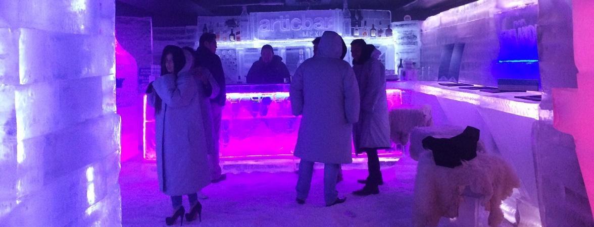 Déjate congelar en el Artic Bar