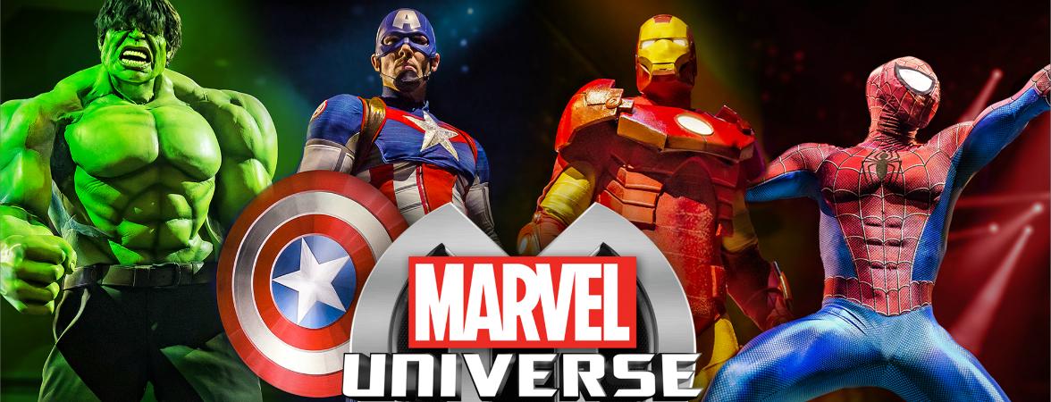 5 razones para no perderse el Marvel Universe Live! en la CDMX
