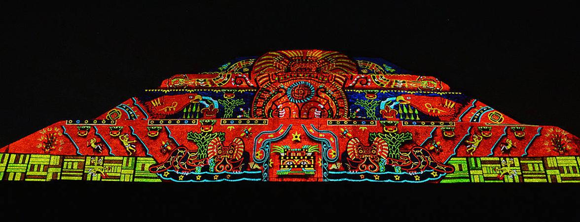 6 imágenes para vivir la fascinante experiencia nocturna de Teotihuacán